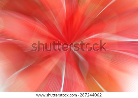 abstract  zoom line red midway color background