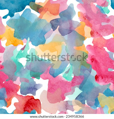 abstraction, bright, watercolor - stock photo