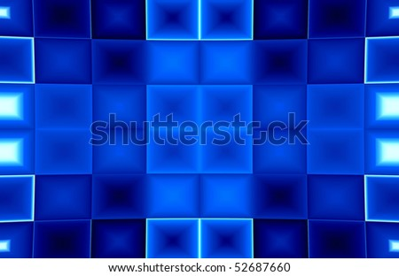 Abstraction for background with many blur rectangles