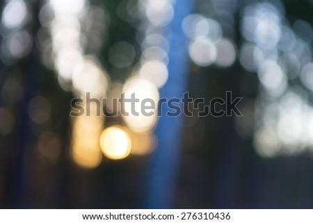 Abstraction of forest blurred background. Colorful defocused picture. - stock photo