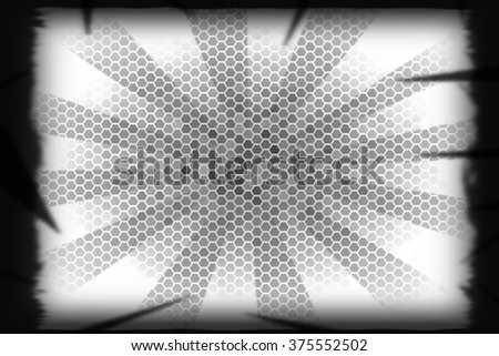 Abstraction on a white background glow, desktop, or cards for any opportunities
