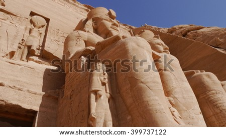 Abu Simbel, Aegypten - stock photo