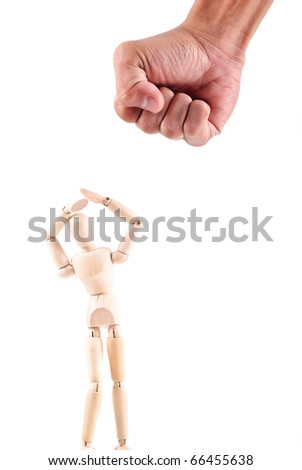 Abusive Behavior - stock photo