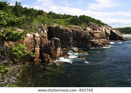 Acadia National Park, ME, USA - stock photo