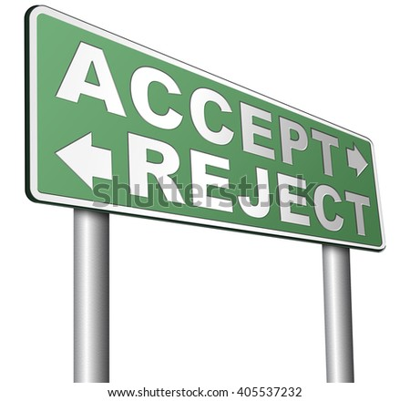 decline an offer