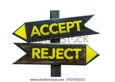 Accept Reject Stock Images, Royalty-Free Images & Vectors ...
