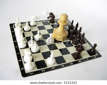 Accessories to game in a chess