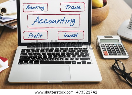 Accounting Business Marketing Stock Finance Concept