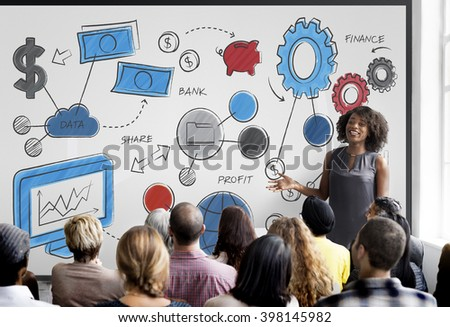 Accounting Finance Currency Graph Money Investment Research Concept - stock photo
