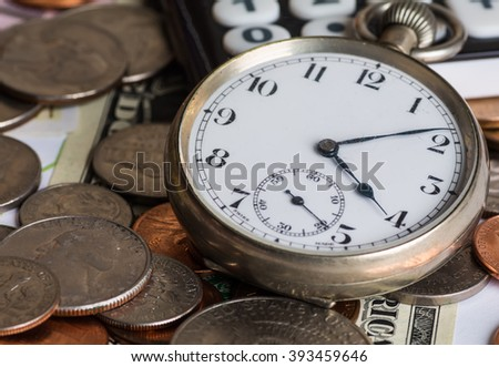 accounting, financial business strategy - stock photo