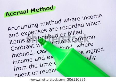 Accruals concept: AccountingTools