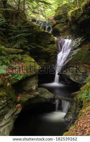 Acharn Waterfall - stock photo