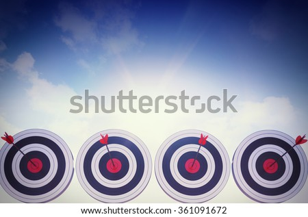 Achieve the objectives - stock photo