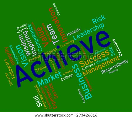 Achieve Words Indicating Improvement Triumphant And Prevail