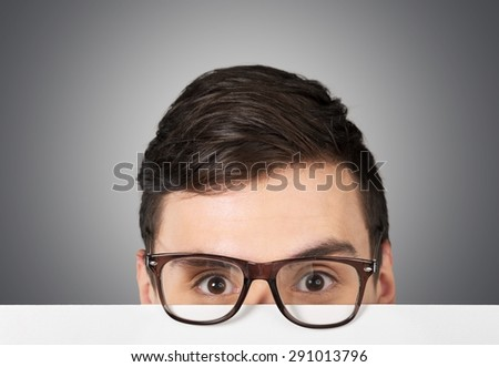 Acne, ads, advertise. - stock photo