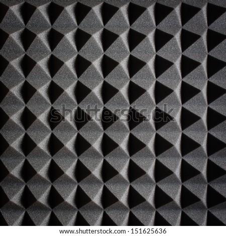 Acoustic Foam Texture - stock photo