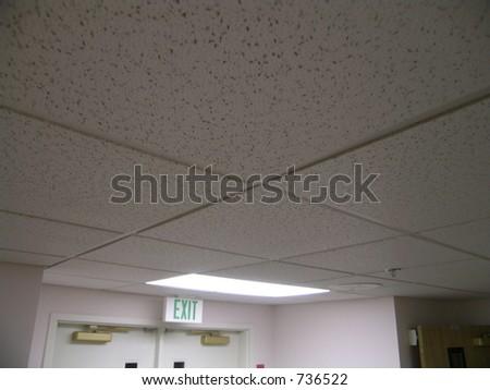 Acoustical Tile - stock photo
