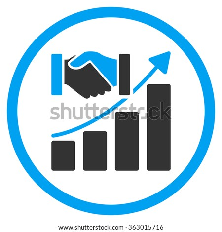 Acquisition Growth Icon - stock photo