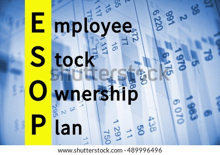 Acronym ESOP as Employee stock ownership plan