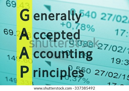Generally accepted accounting principles paper