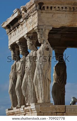 Acropolis Greek Parthenon - stock photo