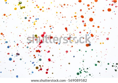 Paint splatter background Stock Photos Royalty Free Paint