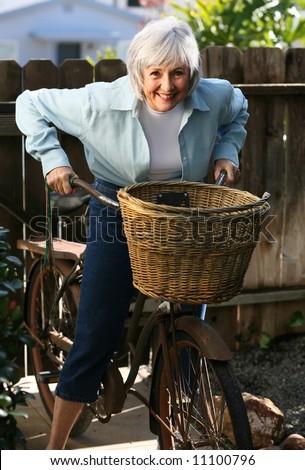 Active Senior - stock photo