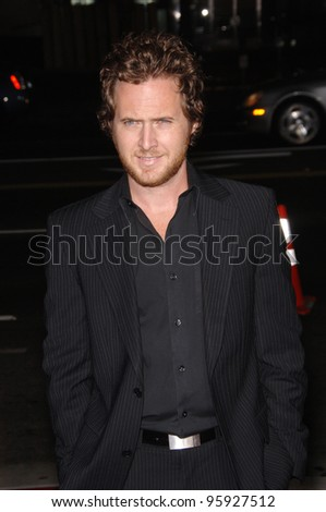 "Actor A.J. BUCKLEY at the Los Angeles premiere of ""Hollywoodland"". September 7, 2006  Los Angeles, CA  2006 Paul Smith / Featureflash"