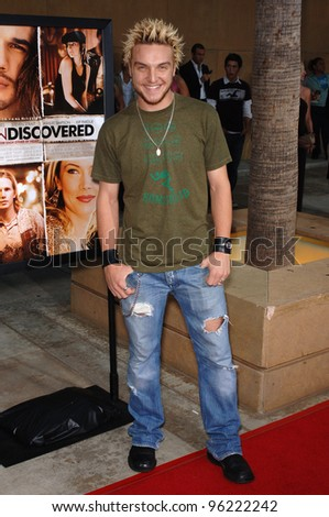 Actor CHRIS JONES at the Los Angeles premiere of Undiscovered. August 23, 2005 Los Angeles, CA  2005 Paul Smith / Featureflash