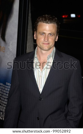 Actor DAVID MOSCOW at the world premiere of Eternal Sunshine of the Spotless Mind, in Beverly Hills, CA. March 9, 2004