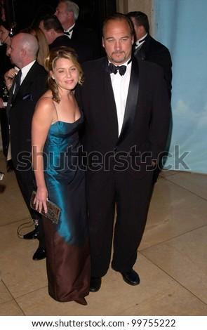 James Belushi and wife