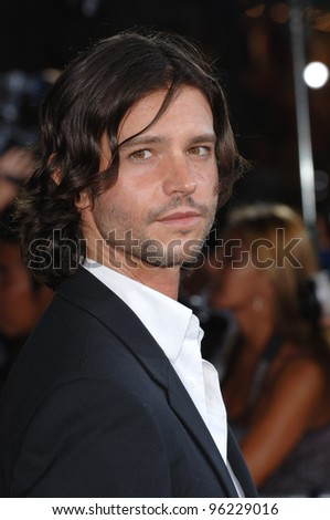 Actor JASON BEHR at the Los Angeles premiere of Just Like Heaven at the Grauman's Chinese Theatre, Hollywood. September 8, 2005  Los Angeles, CA  2005 Paul Smith / Featureflash