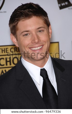 Actor JENSEN ACKLES at the 11th Annual Critics' Choice Awards in Santa Monica, presented by the Broadcast Film Critics Association. January 9, 2006  Santa Monica, CA  2006 Paul Smith / Featureflash - stock photo