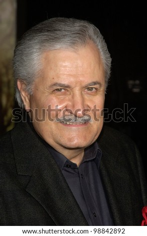 Actor JOHN ANISTON (father of Jennifer Aniston) at the world premiere, in Hollywood, of Jennifer's new movie Along Came Polly. January 12, 2004 - stock photo