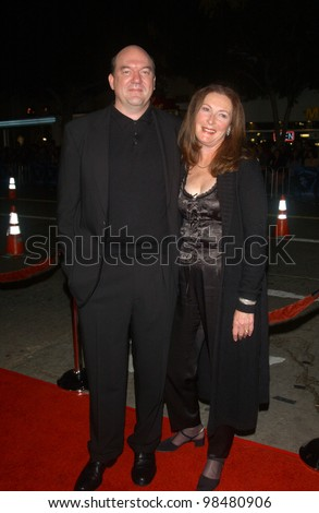 Actor JOHN CARROLL LYNCH  amp  wife BRENDA at the world premiere  in Los    John Carroll Lynch Gothika