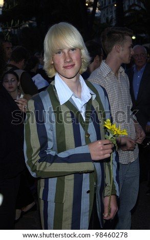 Actor JOHN ROBERTSON at party at the Cannes Film Festival for HBO Films. 17MAY2003