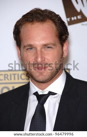 Actor JOSH LUCAS at the 11th Annual Critics' Choice Awards in Santa Monica, presented by the Broadcast Film Critics Association. January 9, 2006  Santa Monica, CA  2006 Paul Smith / Featureflash - stock photo