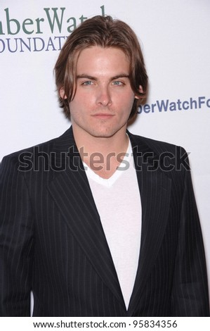 Actor KEVIN ZEGERS at the launch party for the AmberWatch Foundation. April 25, 2006  Los Angeles, CA  2006 Paul Smith / Featureflash