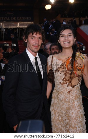 Actor LUKAS HAAS & date at the gala premiere of Star Wars - Revenge of the Sith - at the 58th Annual Film Festival de Cannes. May 15, 2005 Cannes, France.  2005 Paul Smith / Featureflash
