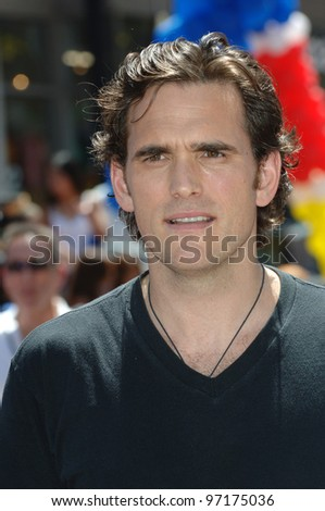 Actor MATT DILLON at the the world premiere, on Hollywood Boulevard, of his new movie Walt Disney Pictures' Herbie: Fully Loaded. June 19, 2005 Los Angeles, CA  2005 Paul Smith / Featureflash - stock photo