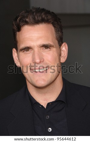 "Actor MATT DILLON at the world premiere, in Hollywood, of his new movie ""You, Me and Dupree"". July 10, 2006  Los Angeles, CA  2006 Paul Smith / Featureflash"