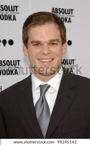 Actor MICHAEL C. HALL at the 2002 GLAAD (Gay & Lesbian Alliance Against Defamation) Awards at the Kodak Theatre, Hollywood.  13APR2002.   Paul Smith / Featureflash - stock photo