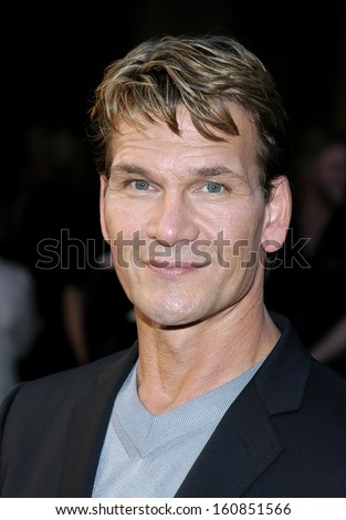 Actor Patrick Swayze attends an Exclusive VIP Screening for his upcoming Hallmark Channel television's drama 'King Solomon's Mines' at TriBeCa Grand Hotel on June 7, 2004 in New York City