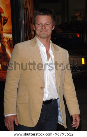 Actor STEVE ZAHN at the Los Angeles premiere of his new movie Sahara, at the Grauman's Chinese Theatre, Hollywood. April 04, 2005  Los Angeles, CA.  2005 Paul Smith / Featureflash - stock photo