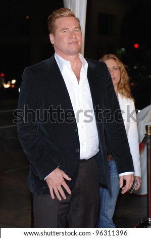 Actor VAL KILMER at the Hollywood premiere of his new movie Kiss Kiss, Bang Bang.. October 18, 2005  Los Angeles, CA.  2005 Paul Smith / Featureflash