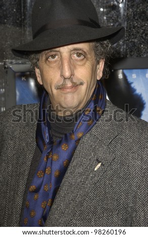 Actor VICTOR SCHIAVELLI at the world premiere, in Hollywood, of Dark Blue. 12FEB2003.   Paul Smith / Featureflash