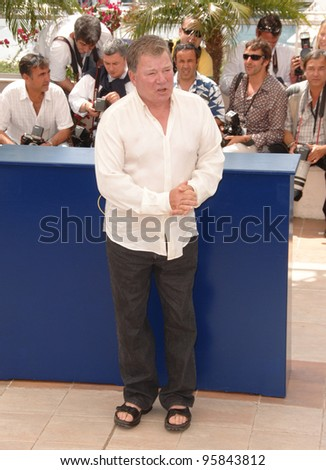 "Actor WILLIAM SHATNER at photocall for ""Over the Hedge"" at the 59th Annual International Film Festival de Cannes. May 17, 2006  Cannes, France.  2006 Paul Smith / Featureflash - stock photo"