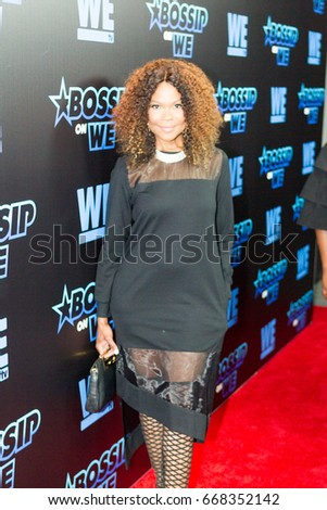 Actress Angela Robinson arrives on the RedCarpet Gossip Best Dressed List Awards on June 27, 2017 in Atlanta Georgia at the W Midtown's Lounge, Elevate