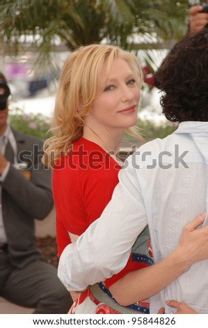 "Actress CATE BLANCHETT at the photocall for ""Babel"" at the 59th Annual International Film Festival de Cannes. May 17, 2006  Cannes, France.  2006 Paul Smith / Featureflash"