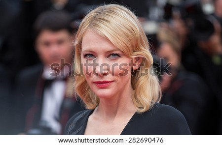 Actress Cate Blanchett attends the 'Sicario' premiere during the 68th annual Cannes Film Festival on May 19, 2015 in Cannes, France.